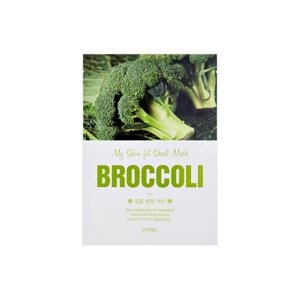 A'pieu Skin- Fit Sheet Mask Maska w płacie Broccoli
