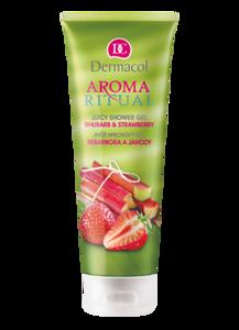 Dermacol Aroma Żel pod prysznic Rabarbar truskawka