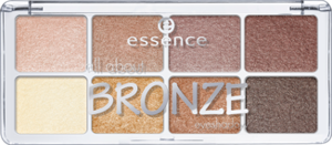 ESSENCE Paleta 8 cieni All About Bronze