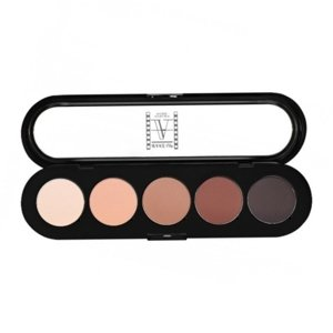 Make-up Atelier Paris Paleta 5 cieni do powiek T19 Mat 10g