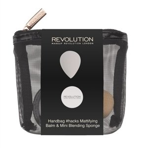 Makeup Revolution Handbag Mattifying Balm & Mirror