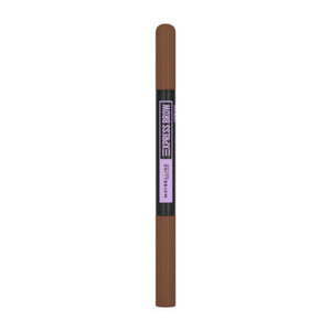 Maybelline Brow Satin Dwustronna kredka do brwi MEDIUM BROWN