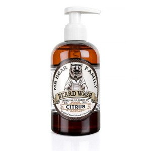 Mr Bear Family Beard Wash Citrus Szampon do brody 250ml