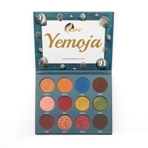 OPV Beauty 12 Colour Eyeshadow Palette YEMOJA Paleta cieni