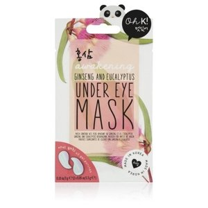 Oh K! Ginseng and Eucalyptus Under Eye Mask Maseczka pod oczy