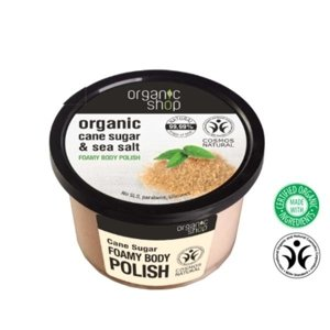 Organic Shop Peeling do ciała Cane Sugar&Sea Salt OS66