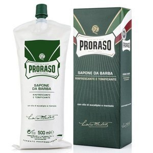 Proraso Soap in a Bowl Mydło do golenia GREEN 500ml