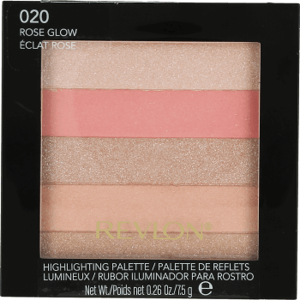 Revlon Highlighting Palette Rozświetlacz do twarzy 020 Rose Glow
