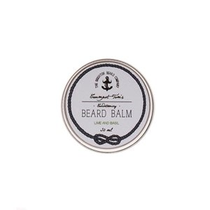 The Brighton Beard Co-Creampot Tom's Beard Balm Lime and Basil Balsam do brody 30ml