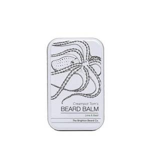 The Brighton Beard Co-Creampot Tom's Beard Balm Lime and Basil Balsam do brody 60ml
