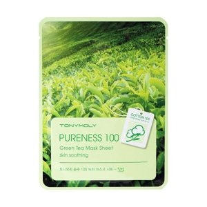 Tony Moly Pureness 100 Sheet Mask Maska w płacie GREEN TEA