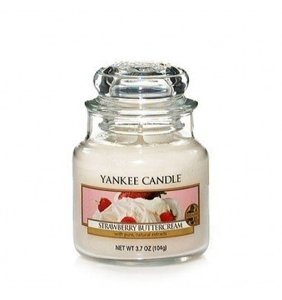 Yankee Candle ŚWIECA W SŁOIKU MAŁA Strawberry Buttercream