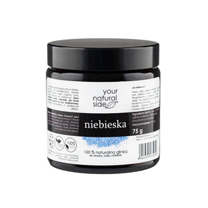 Your Natural Side 100% Naturalna GLINKA NIEBIESKA kaolin 75g