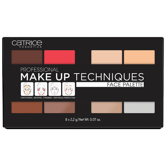CATRICE Professional Make Up Techniques Paleta do makijażu twarzy