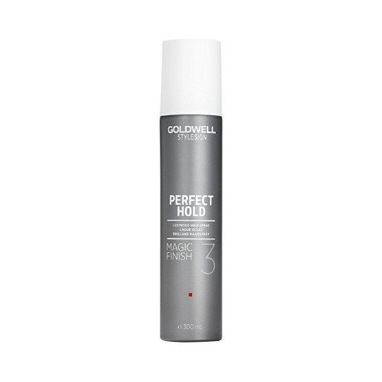 GOLDWELL Styling Brilliance Magic Finish Spray nadający blask i chroniący kolor włosów 300ml
