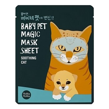 Holika Holika Baby Pet Magic Sheet Maseczka w płacie CAT