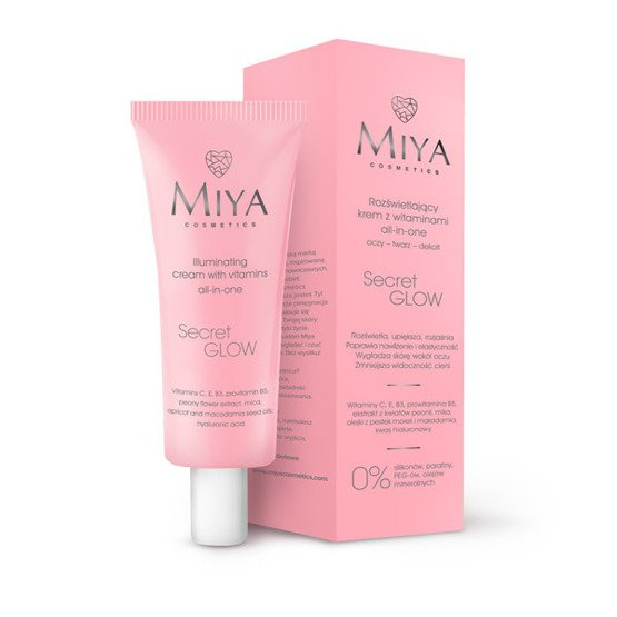 MIYA SecretGLOW Rozświetlający krem z witaminami all-in-one 30ml