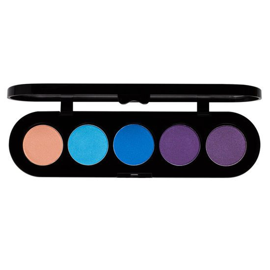 Make-up Atelier Paris Paleta 5 cieni do powiek T21 Satynowe 10g