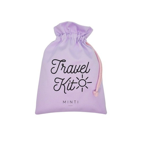 Minti Bag WOREK Travel Kit Liliowy