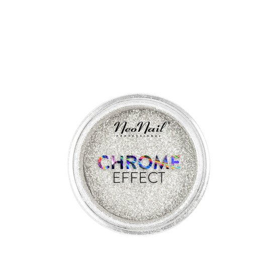NeoNail Puder Chrome Effect Silver