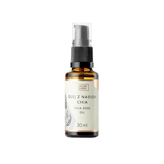 OUTLET Nature Queen Olej z nasion Chia zimnotłoczony 30ml
