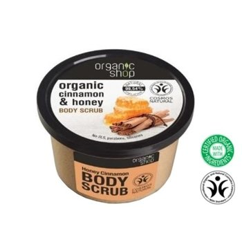 Organic Shop Scrub do ciała Cinnamon&Honey OS56