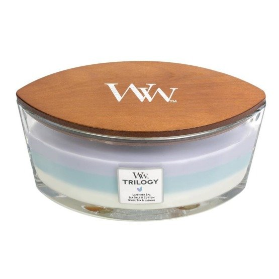 WoodWick Świeca Heartwick Trilogy Calming Retreat