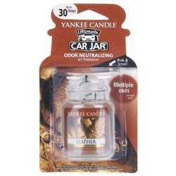 Yankee Candle Car Jar Ultimate Zapach do samochodu Leather