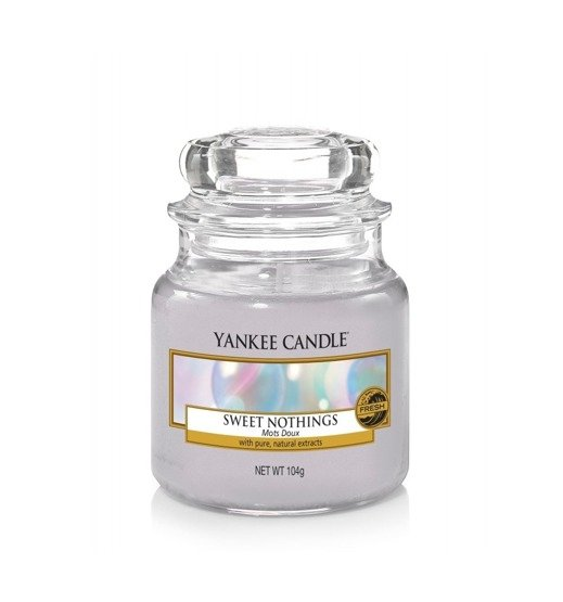 Yankee Candle ŚWIECA W SŁOIKU MAŁA Sweet Nothings