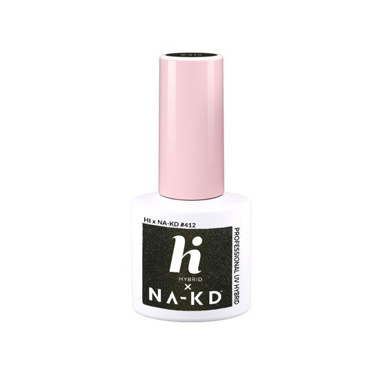 hi hybrid NAKD Lakier hybrydowy #412 Golden Brown 5ml