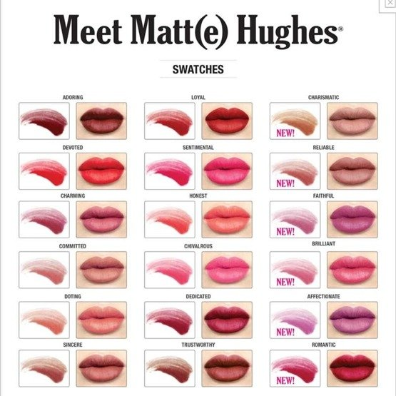 theBalm Meet Matt(e) Hughes Matowa szminka do ust Loyal